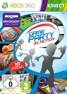 Game-Party-in-Motion-Kinect-erforderlich-Game-gebraucht