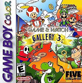 Game & Watch Gallery 3  (Nintendo Game B...