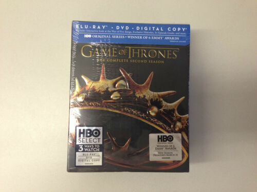 Game of Thrones: The Complete Second Season (Blu-ray Disc/DVD, 2013, 7-Disc Set) in DVDs & Movies, DVDs & Blu-ray Discs | eBay