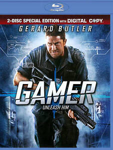 Gamer (Blu-ray Disc, 2010, Includes Digi...