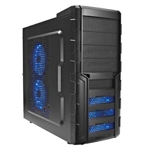 gaming pc geh use atx midi tower lc3134 mit led l fter u. Black Bedroom Furniture Sets. Home Design Ideas