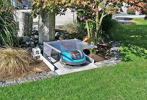 gardena robiport s m hroboter garage rasenroboter mower dach ebay. Black Bedroom Furniture Sets. Home Design Ideas