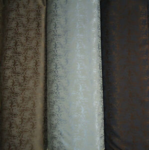 gardinen vorhang deko stoff meterware barock stil 3 farben. Black Bedroom Furniture Sets. Home Design Ideas