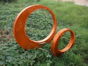 Garten stecker gartendeko edelrost rostoptik gl ck symbol for Gartendeko stecker