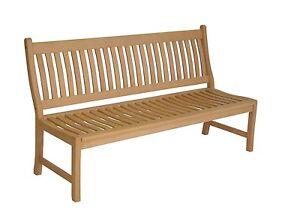 gartenbank 3 sitzer bank holz hartholz garten sitzbank. Black Bedroom Furniture Sets. Home Design Ideas
