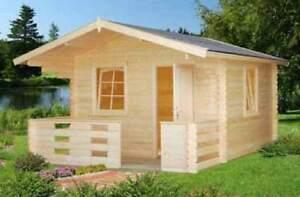 gartenhaus harriet ger tehaus blockhaus ger teschuppen holzhaus 350x350 480 cm ebay. Black Bedroom Furniture Sets. Home Design Ideas