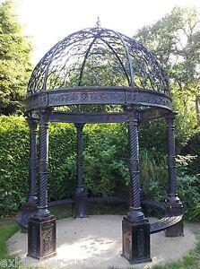 Gartenlaube-Pavillon-Gartenhaus-Gazebo-Orangerie-Gartenpavillon-Laube