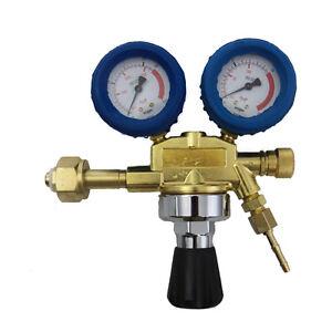 Gas-Druckminderer-Manometer-fuer-Sauerstoff-Gasflasche-zum-Schweissen-neu