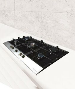gaskochfeld nodor 87 5cm kochfeld gasfeld autark gas auf glas erdgas fl ssiggas. Black Bedroom Furniture Sets. Home Design Ideas