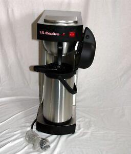 gastro kaffeemaschine mit 1 thermo pumpkanne 2 2 liter ebay. Black Bedroom Furniture Sets. Home Design Ideas