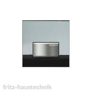 geberit urinalsteuerung hytouch urinal sigma 50 rauchglas verspiegelt ebay. Black Bedroom Furniture Sets. Home Design Ideas