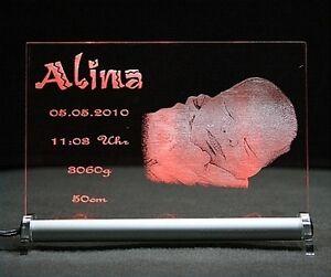 Geburtsschild-Baby-mit-Foto-und-Textgravur-ab-37-99-LED-Schild-Leuchtschild