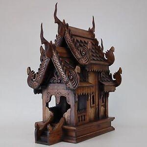geisterhaus fang thailand schrein altar buddha tempel feng shui 19092 ebay. Black Bedroom Furniture Sets. Home Design Ideas