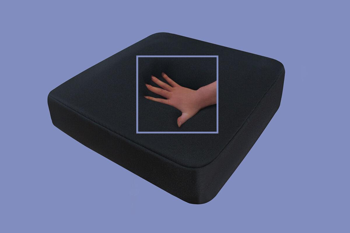 viskoelastisches sitzkissen sitzpolster weiches kissen f r. Black Bedroom Furniture Sets. Home Design Ideas