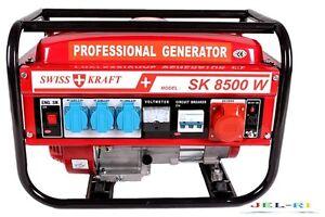 generator 6 5kw stromerzeuger stromagreggat notstromaggregat aggregat ebay. Black Bedroom Furniture Sets. Home Design Ideas