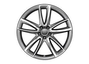 Genuine Audi A5 20 Quot 5 Arm Parabolic Design Alloy Wheels Ebay