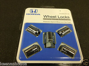 Acura Wheels on Genuine Honda Acura Exposed Wheel Lock Set   Ebay