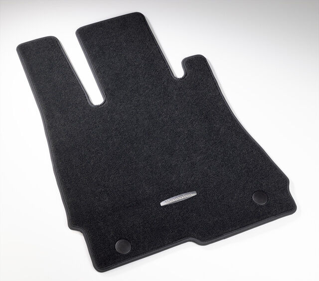 Genuine Mercedes Benz S Class V221 Black Carpeted Floor