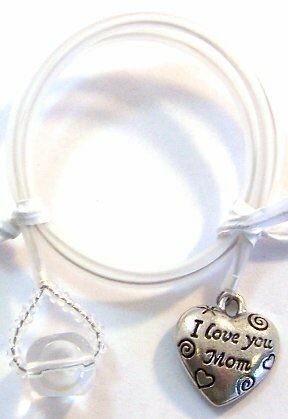"Genuine Pewter ""I LOVE YOU MOM"" HEART on 12"" BOOKMARK in Books, Accessories, Bookmarks 
