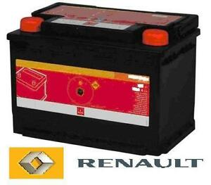 genuine renault car battery clio 1 5 d dci diesel ebay. Black Bedroom Furniture Sets. Home Design Ideas