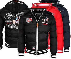 norway boulevard herren winter jacke royal polo steppjacke neu ebay. Black Bedroom Furniture Sets. Home Design Ideas