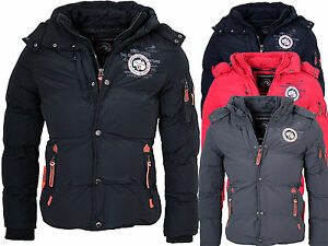 geographical norway herren winter jacke winter parka warme jacke bomber jacke ebay. Black Bedroom Furniture Sets. Home Design Ideas