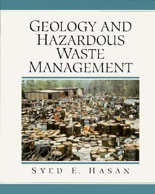 and Hazardous Waste Management by Syed E. Hasan 1996, Hardcover
