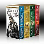 George R. R. Martin's A Game of Thrones 4-Book Boxed Set: A Game of Thrones, A C in Books, Fiction & Literature | eBay