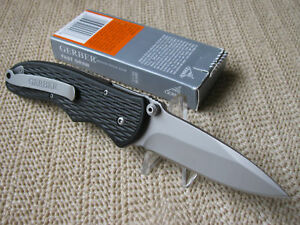 Gerber Fast Draw FAST Assisted Open Steel Lock Tactical Folding Pocket Knife NEW in Collectibles, Knives, Swords & Blades, Folding Knives | eBay