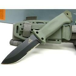 Gerber-LMF-II-GR22-01626-Foliage-Green-Infantry-Survival-Knife-IR-Resistant-NEW
