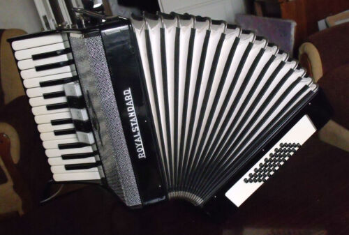 German Accordion ROYAL STANDARD 40 bass in Musical Instruments & Gear, Accordion & Concertina | eBay