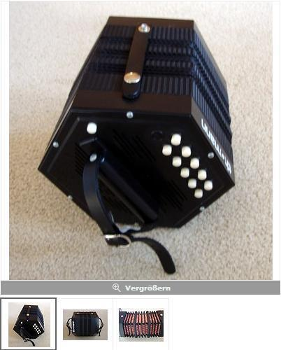 German Concertina 40 Tones Thomann - Plastic - NEW in Musical Instruments, Keyboard/ Piano, Accordion/ Concertina | eBay