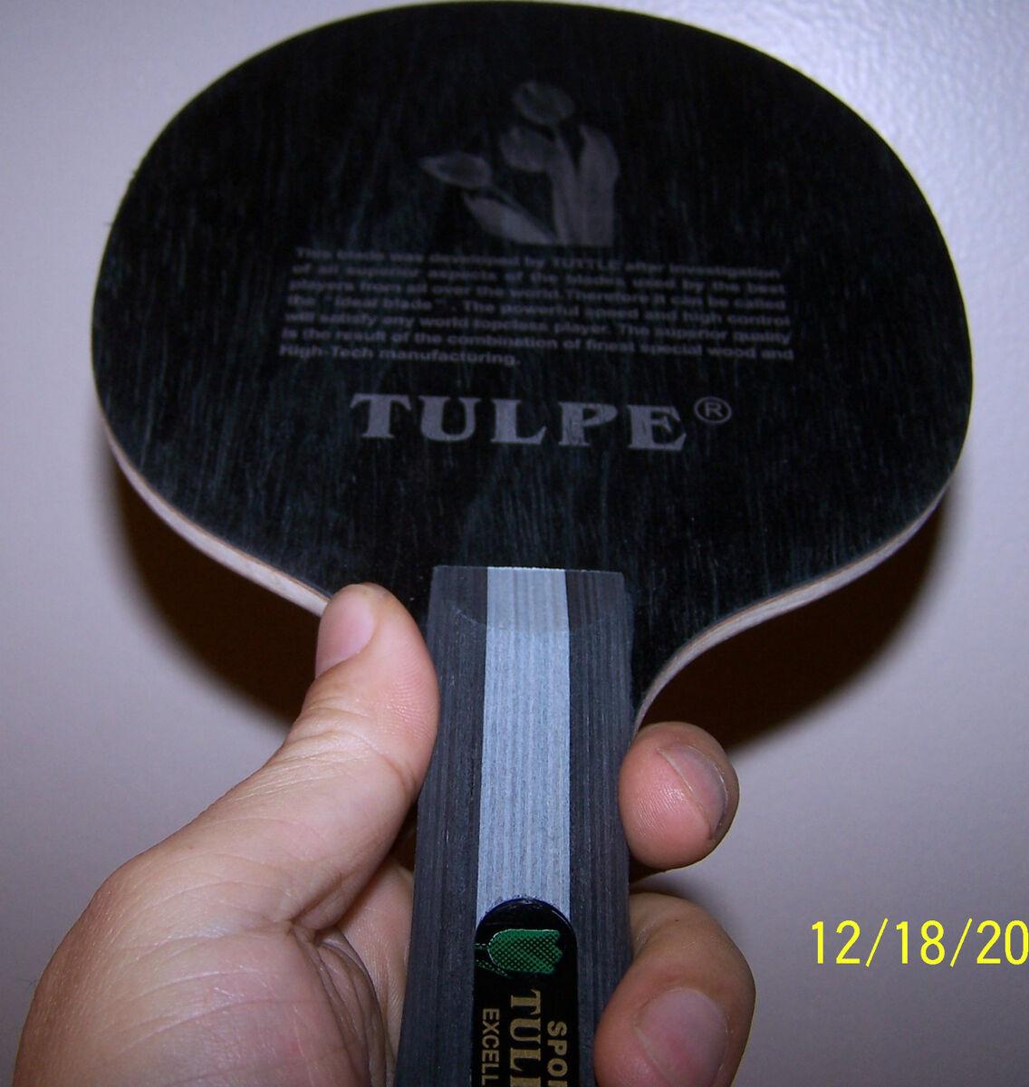 German TULPE Hinoki Blade Table Tennis Ping Pong 424