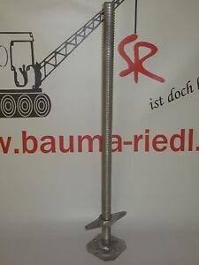 Geruestfuesse-Spindelfuesse-100cm-f-Plettac-Layher-Allfix-Assco-MJ-Bosta100-6-Stueck