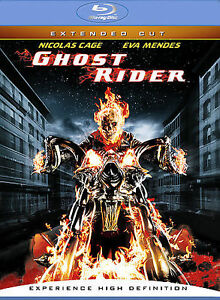 Ghost Rider (Blu-ray Disc, 2007, Extende...
