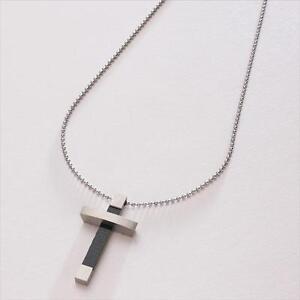 gift for dad daddy man engraved cross pendant necklace. Black Bedroom Furniture Sets. Home Design Ideas