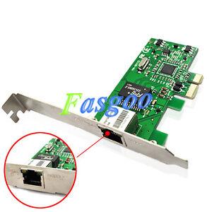 Gigabit Ethernet  on Gigabit Ethernet Lan Pci E Express Network Desktop Controller Card 10
