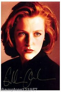 Gillian-Anderson-Autogramm-AKTE-X