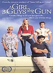A Girl, 3 Guys, and a Gun (DVD, 2002)
