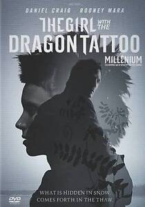 The Girl With the Dragon Tattoo (DVD, 20...