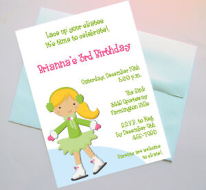 Skate Party Invitation was amazing invitations layout