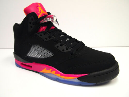 Girl's Air Jordan 5 Retro GS Basketball Shoes Black/Bright Citrus-Fusion Pink in Clothing, Shoes & Accessories, Kids' Clothing, Shoes & Accs, Girls' Shoes | eBay
