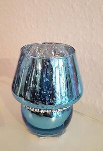 Glas-Teelicht-Halter-edel-Lampe