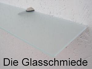 glasregal wandregal satiniert 80 x 12 cm glasablage. Black Bedroom Furniture Sets. Home Design Ideas