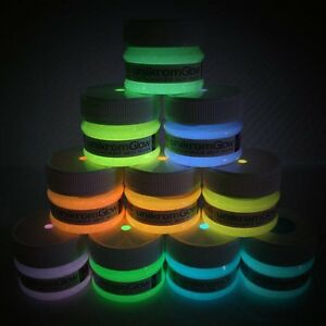 Glow in the dark paint multiple colors 30g ebay - Glow in the dark paint colors ...