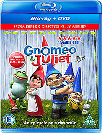 Gnomeo And Juliet (Blu-Ray:)