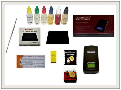 Gold Acid Testing Kit Electronic Tester Scale Digital Test 14K Silver Diamonds in Jewelry & Watches, Jewelry Design & Repair, Tools | eBay