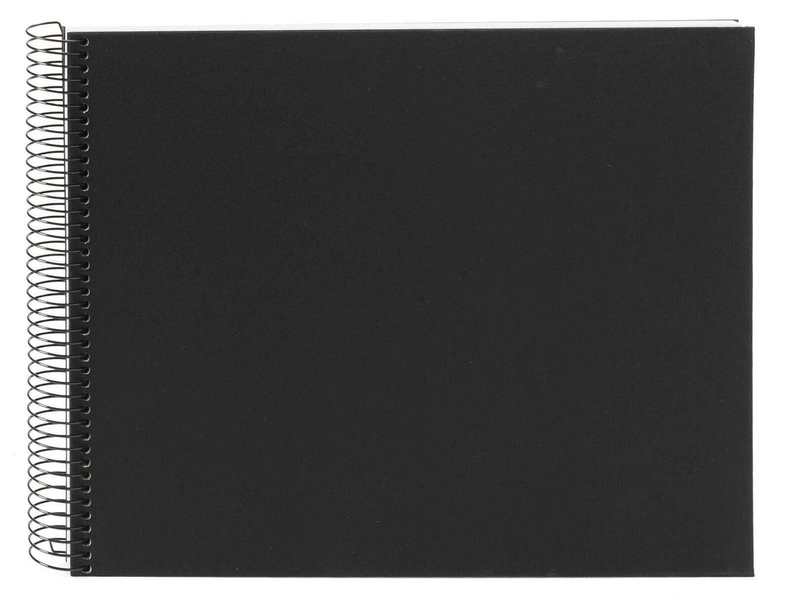 goldbuch spiralalbum bella vista schwarz 35x30cm wei e seiten 25377 fotoalbum ebay. Black Bedroom Furniture Sets. Home Design Ideas