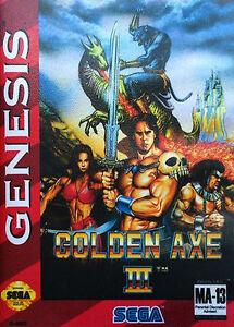 Golden Axe III (Sega Genesis, 1993)