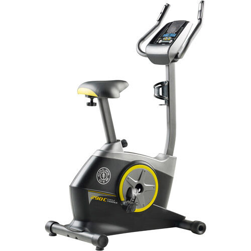 Stationary Indoor Upright Fan Bike Exercise Trainer Weight Loss New